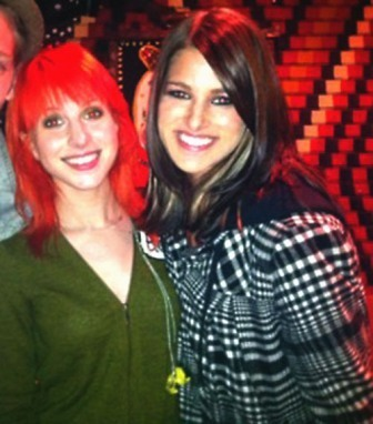 Hayley Williams and Cassadee Pope :)