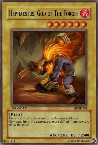 Hephaestus Card