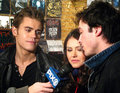 Ian & Nina & Paul - the-vampire-diaries-actors photo