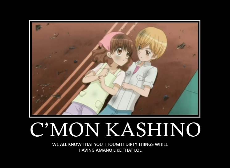 Ichigo and Kashino motivational poster - kashino-and-ichigo photo