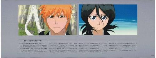 Ichigo and Rukia♥