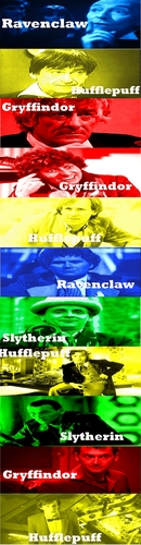 If the Doctors went to Hogwarts