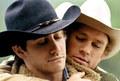Jack and Ennis * Brockback Mountain