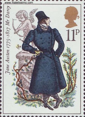 Jane Austen Stamps