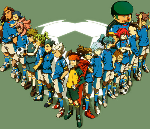Japan team - inazuma-eleven Photo