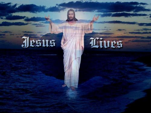 Jesus saves our lives - christianity Photo