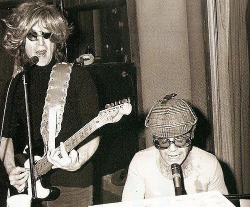 John Lennon and Elton John