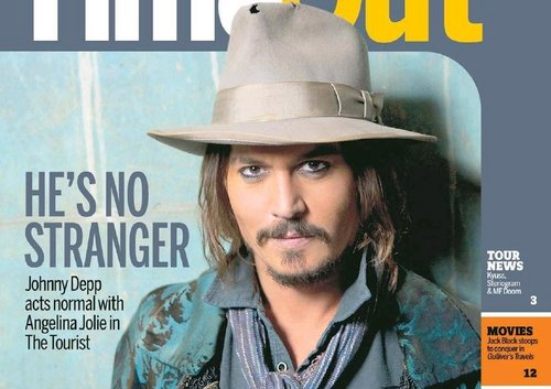 Johnny Depp-New Zealand Herald - Time Out Supplement December 16, 2010
