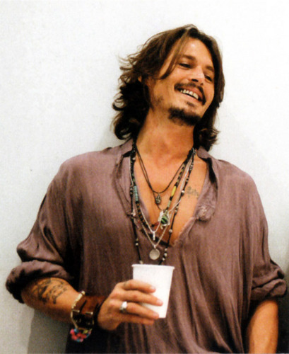Johnny Depp wallpaper called When Johnny Depp Smiles