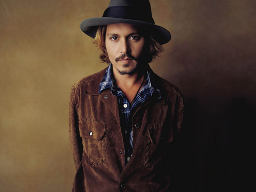Johnny Depp wallpaper probably containing a fedora titled Johnny Depp♥