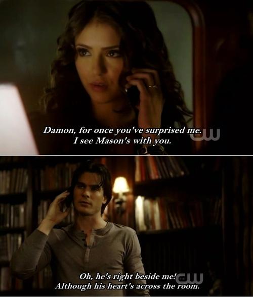 Vampire Diaries Love Quotes : Kat & Damon 2x06 - Katherine Pierce Fan Art (17712443) - Fanpop
