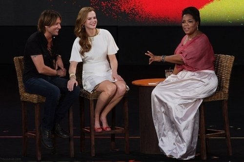 Nicole and Keith on Oprah's 'Ultimate Australian Adventure'