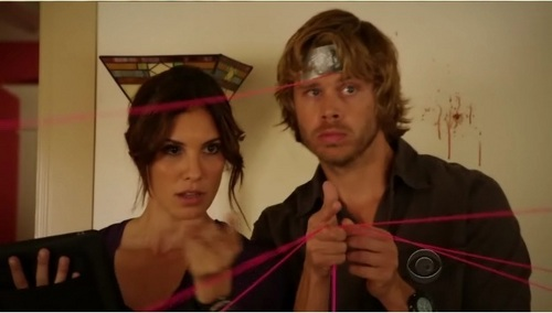 NCIS: Los Angeles پیپر وال probably with a portrait called Kensi & Deeks Screencaps from Season 2 Episode 11