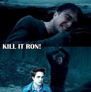 Kill it ron~