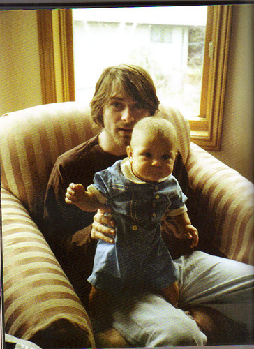 Kurt Cobain & Frances ❤