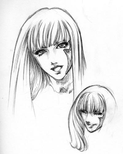 Lady GaGa Poker Face Head