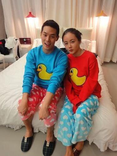 Lee sun ho & hwangwoo seul hye