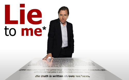 Lie to Me wallpaper containing a business suit, a well dressed person, and a newspaper entitled Lie to me