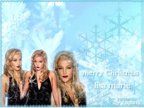 Lisa Marie Presley クリスマス