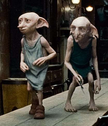 Lovely Kreacher and Dobby