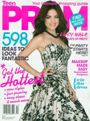 Lucy Hale Teen Prom Magazine