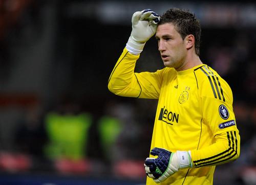 M. Stekelenburg playing for Ajax