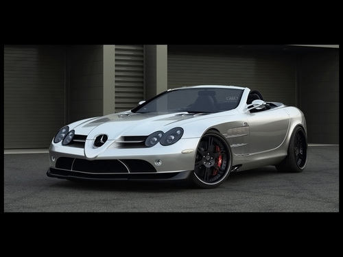 MERCEDES - BENZ SLR por WHEELSANDMORE