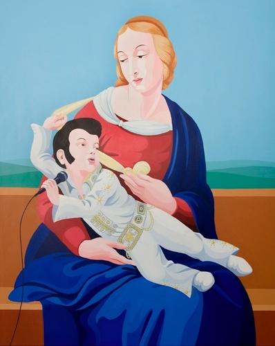 Madonna dell'Elvis Giuseppe Veneziano