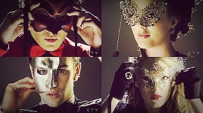 Gossip Girl wallpaper titled Masquerade