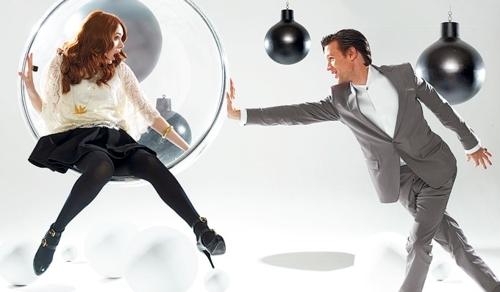 Matt & Karen 'Buzz Magazine' photoshoot 18/12/10