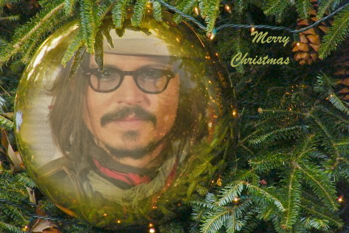 Johnny Depp Christmas Johnny Depp Merry Christmas