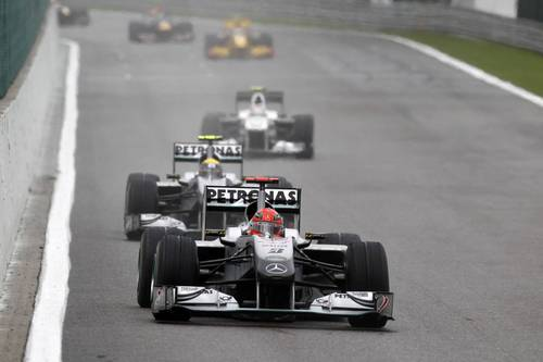 Michael Schumacher 2010 Mercedes GP - formula-1-racing Photo