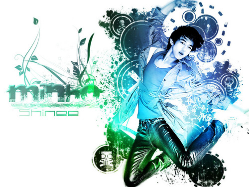 Minho-The SHINee World - shinee Wallpaper