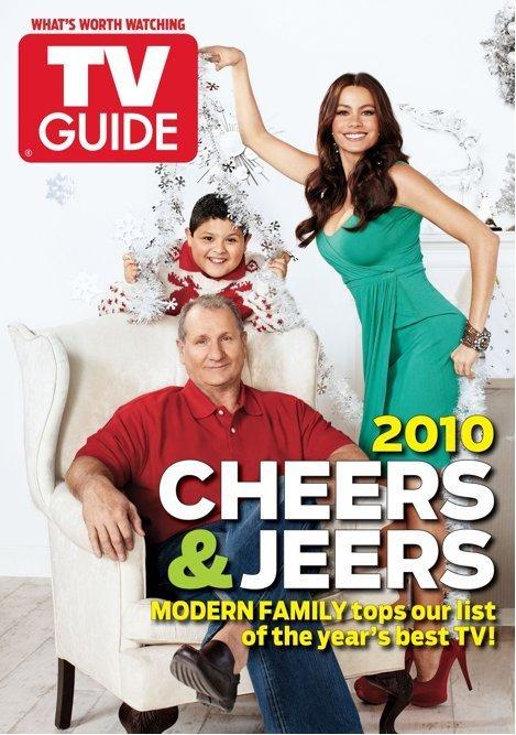 Modern Family TV Guide Weihnachten Cover