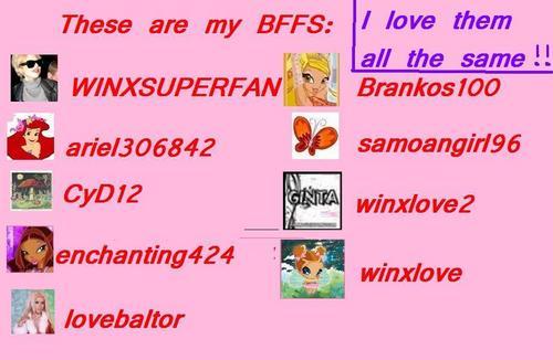 My BFFS!!!(BY Gretsel)