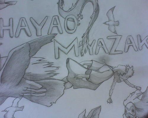My College Work on Hayao Miyazaki