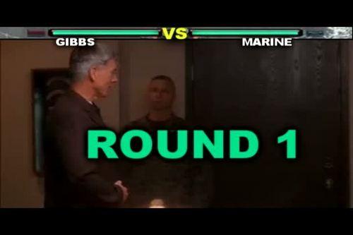 NCIS - GIBBS FIGHT (TEKKEN STYLE)