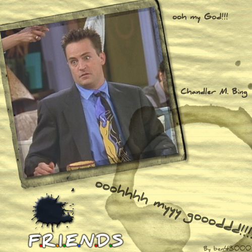OMG Chandler Bing