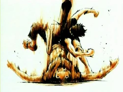 Monkey D. Luffy kertas dinding probably with Anime titled One Piece