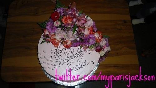 Paris B-DAy cake