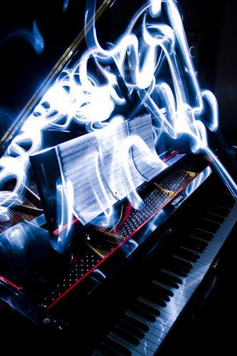 Piano grafetti