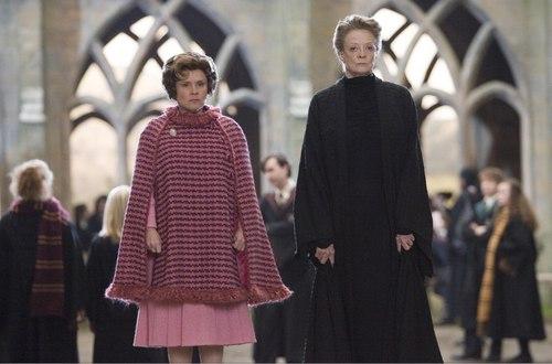 Professor Umbridge and Professor McGonagall