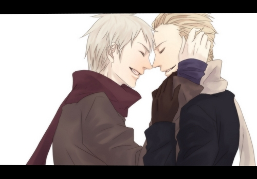 Prussia and Germany - hetalia-couples Photo