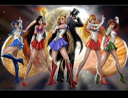 Realistic Sailor Senshi
