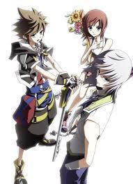 Riku,Sora,and Kairi