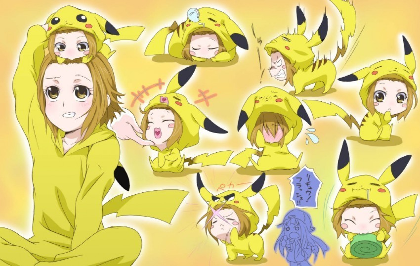 Ritsu with a slice of Pokemon!