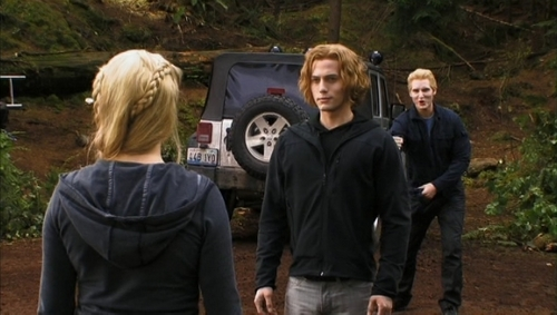 Rosalie, Jasper and Carlisle