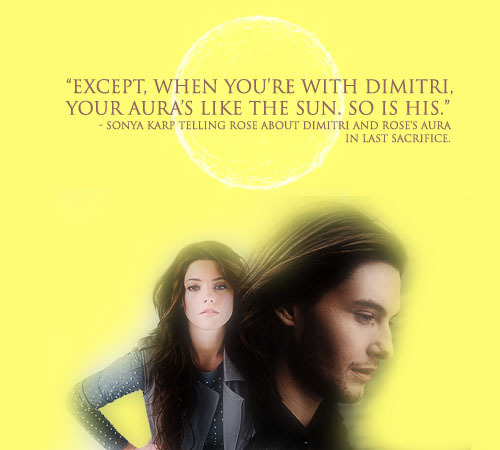 Rose & Dimitri - Last Sacrifice