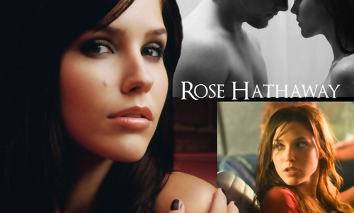 Vampire Academy achtergrond with a portrait called Rose Hathaway