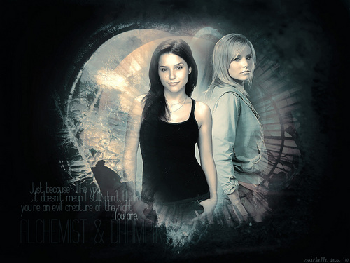 Rose &amp; Sydney - vampire-academy Wallpaper